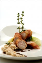 Grilled Loin of Rabbit